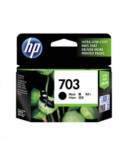 HP Black Ink Cartridge-703