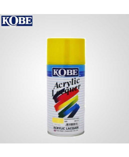 Kobe yellow Acrylic Lacquer Spray Paint-Pack Of 12