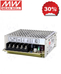 Meanwell 12V 4.2A 50W SMPS-RS-50-12