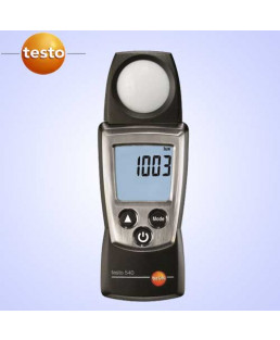 Testo Light Intensity Measurements (Lux Meter)-540