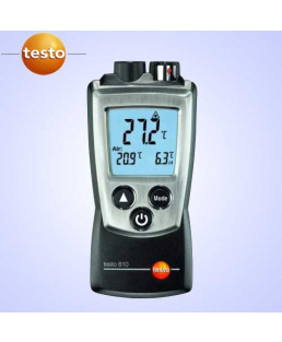 Testo Air Temperature And Infrared Surface Temperature-810