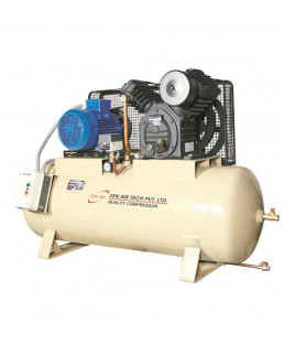 Zen Air Tech 2HP 100L Two Stage Air Cooled Air Compressor-75 L