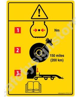 3M Converter 105X148 mm Danger Sign-DS106-A6V-01