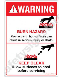 3M Converter 105X148 mm Danger Sign-DS202-A6V-01