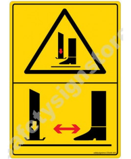 3M Converter 105X148 mm Danger Sign-DS408-A6V-01