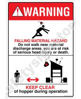 3M Converter 210X297 mm Danger Sign-DS409-A4V-01