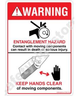 3M Converter 105X148 mm Danger Sign-DS441-A6V-01