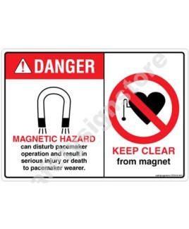 3M Converter 105X148 mm Danger Sign-DS503-A6V-01