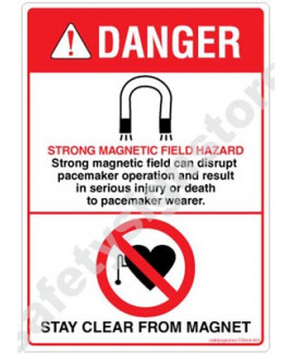 3M Converter 105X148 mm Danger Sign-DS504-A6V-01