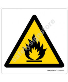 3M Converter 105X105 mm Fire Exit Emergency Sign-FE568-105V-01