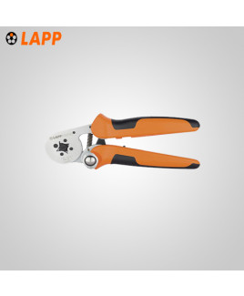 LAPP PEW 8.186 Crimping pliers for 0.8-10 mm sq  end sleeves - 61813737 (Pack of - 1)