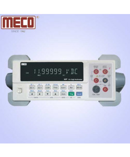 Meco 6½ Digit 12,00,000 Count Bench Top Digital Multimeter with USB & RS232 Interface-65P