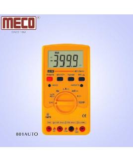 Meco 3¾ Digit 3999 Count Auto/Manual Ranging Digital Multimeter-801 AUTO