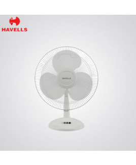 Havells 400 mm White Colour Table Fan-Swing LX