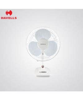 Havells 400 mm White Colour Table Fan-Velocity Neo