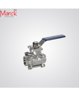 Marck Size- 25 Ball Valve SCR-1PC-SS304-10 kg