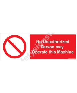 3M Converter 105X297mm Prohibitory Signs-PB303-1029V
