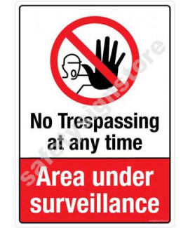 3M Converter 210X297mm Property & Security Signs-PS318-A4V