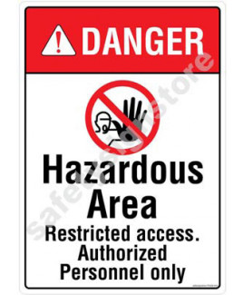 3M Converter 210X297mm Property & Security Signs-PS408-A4V