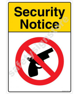 3M Converter 210X297mm Property & Security Signs-PS610-A4V