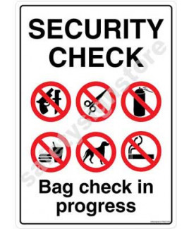 3M Converter 210X297mm Property & Security Signs-PS620-A4V