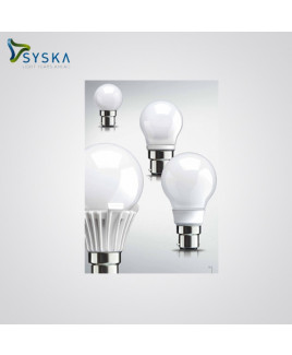 Syska 3W 3000K LED B-22 Base LED Glass Bulb-SSK-QA0301