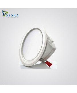 Syska 2W 3000K Clear Lens LED Round Cabinet Light-SSK-CL - R -2 W - C