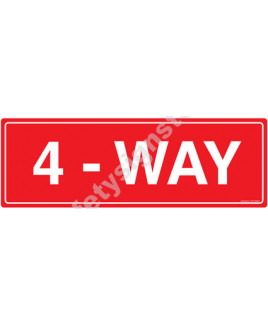 3M Converter 300X900mm Traffic Signs-TR213-3090REF