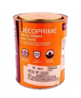 Asian Paints AP Decop Prem Metal Pri/Tractor Ro Pri-Deep Redoxide-0.5 Ltr.