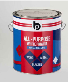 British Paints All Purpose White Primer (S.T.) (0.5 Ltr.)