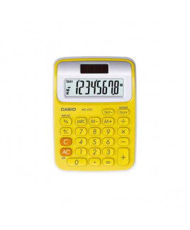 CASIO Mini Desk Calculator-MS-6 VC -YW