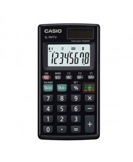 CASIO Portable Calculator-SL-797 TV