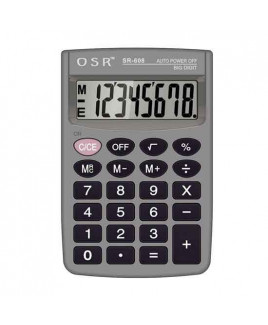 OSR Calculator Basic 8 Digits -SR-608