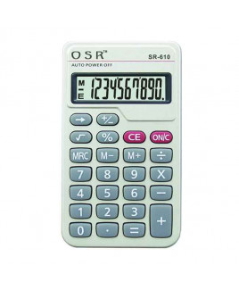 OSR Calculator Basic 10 Digits -SR-610