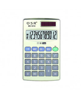 OSR Calculator Basic 12 Digits -SR-1012