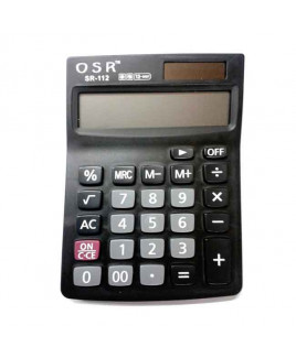 OSR Calculator Basic 12 Digits -SR-112