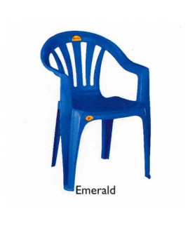 Supreme Plastic Chair (Emerald)