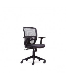 VF Medium Back Chair PP Arms Nylon Base