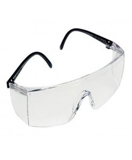 3M Safety Glass with Clear Lens Hardcoat-1709 IN