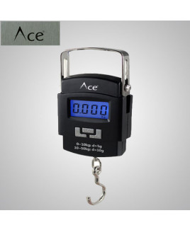 Ace Portable Digital Hanging Weighing Scale A-08