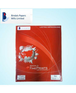 Bindal 75 gsm A4 Paper Sheet (Pack Of 500 Sheet)