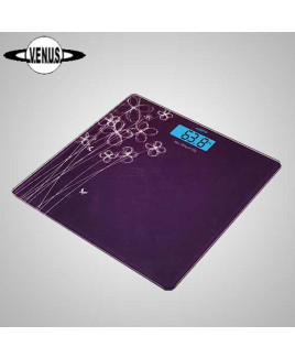 VENUS Purple Electronic Digital Body Weight Weighing Scale Eps-6399