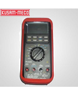 Kusam Meco 50,000/500,000 Counts Autoranging Digital Multimeter With Temp. Measurement-KM 859 CF