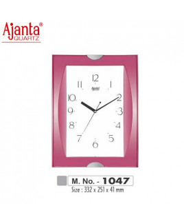 Ajanta 332X251X41mm Fancy & Plain Clock-1047