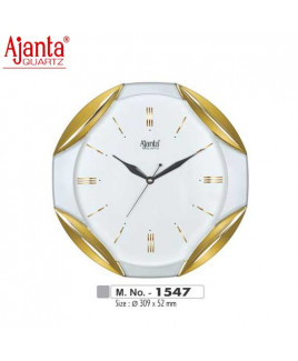 Ajanta 309X52mm Sweep Clock-1547