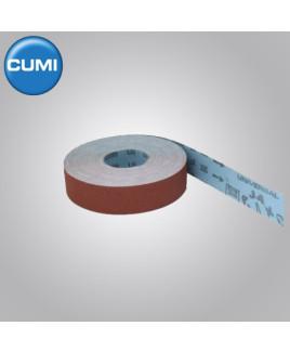 Ajax 38mm Grit-24 Aloxite Resin Metal Cloth Roll-50m Long