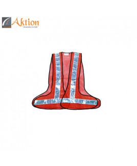 AKTION PVC Reflective Tape Safety Jacket-AK 602