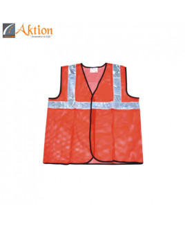 AKTION PVC Reflective Tape Safety Jacket-AK 605