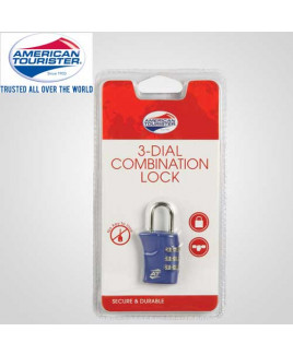American Tourister 3 Dial Combination Lock-Z19-005
