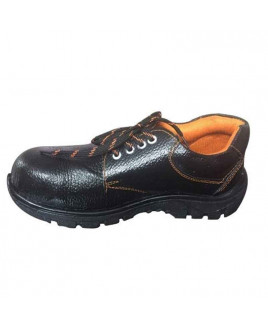 Avon Size-7 Steel Toe PVC Sole Industrial Safety Shoes-GKS02
